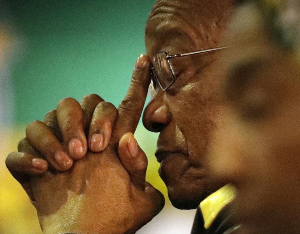 El presidente de Sudáfrica, a un paso de perder su cargo por corrupción