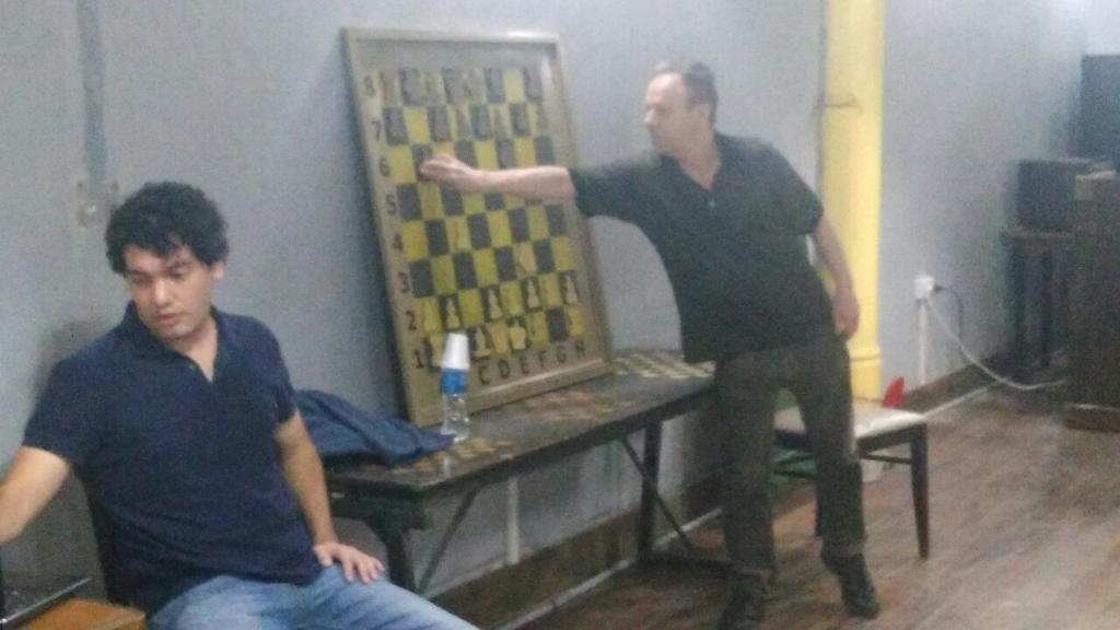 La leyenda del ajedrez mundial Ulf Andersson visitó nuestra ciudad