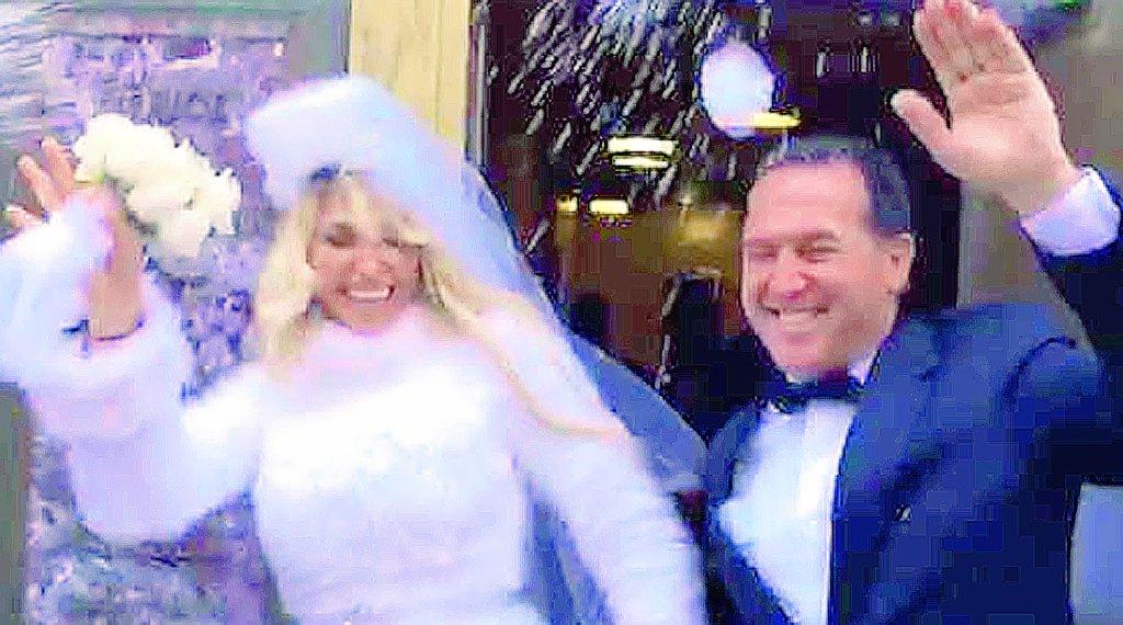 Vicky Xipolitakis se casó en secreto en Nueva York