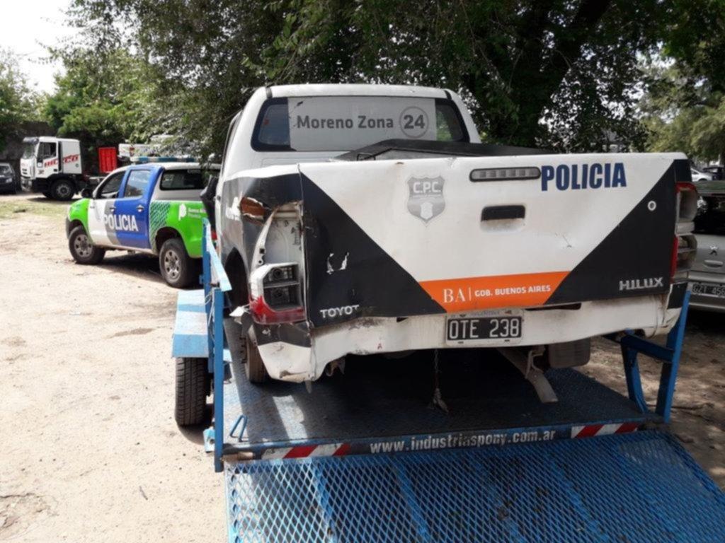 Piden que se investigue si la compactación de las patrullas esconde el robo de autopartes