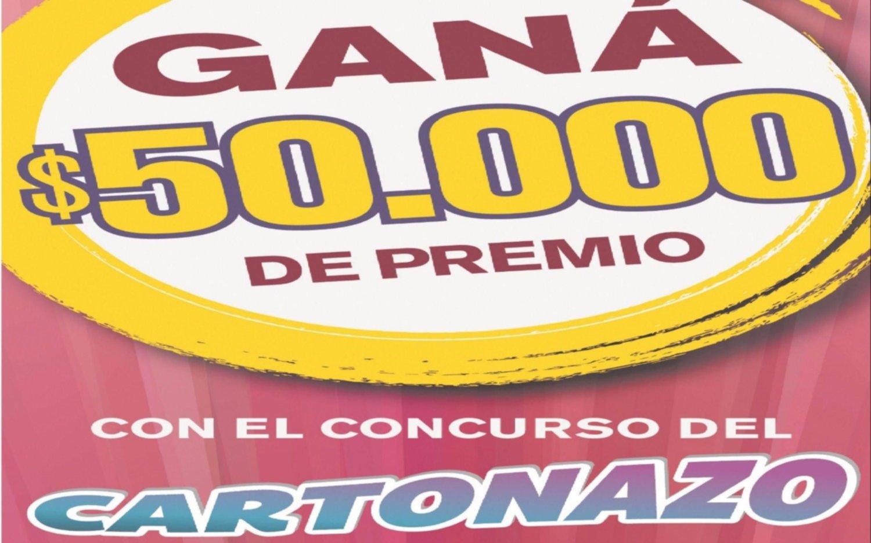 Controlá tu Cartonazo, hay 50 mil pesos en juego