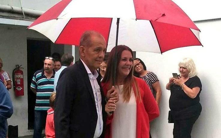 Se casó a los 64 años en La Plata Alejandro Sabella