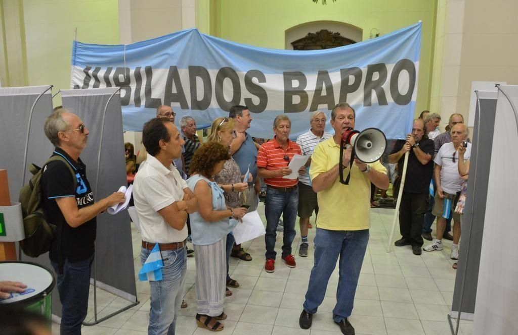 Buscan que se declare inconstitucional la reforma a la caja previsional del Bapro