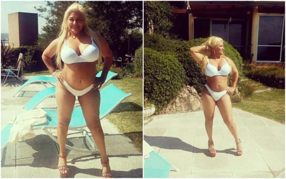 """Lejos de inhibirse, Gladys 'La Bomba Tucumana' continuó publicando fotos """"hot"""""""