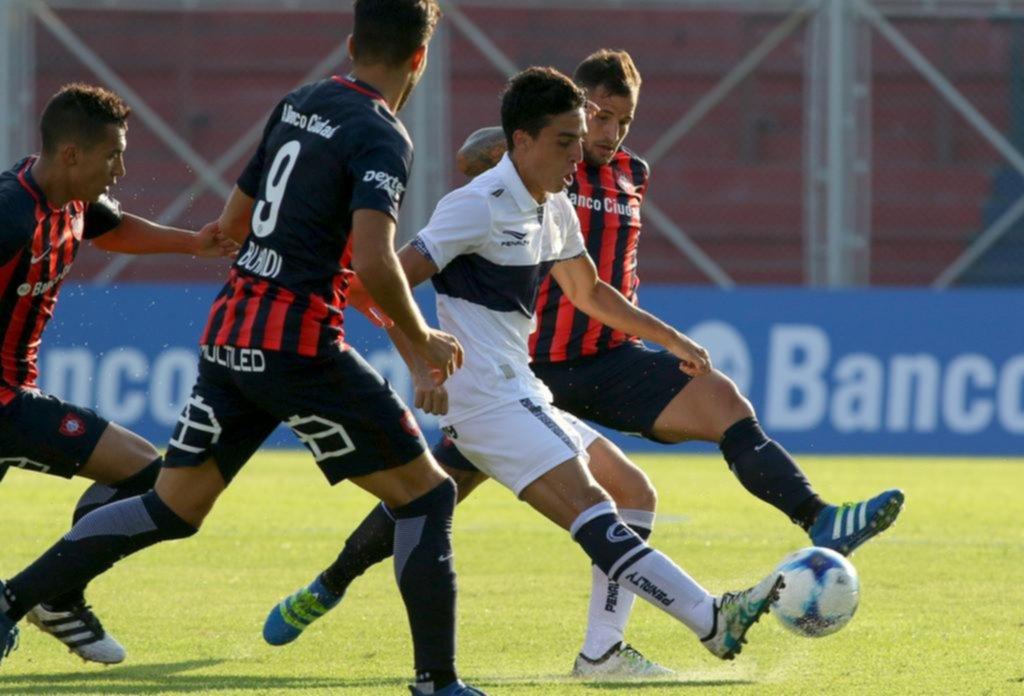 Gimnasia le dio un golpe a la ilusión de San Lorenzo