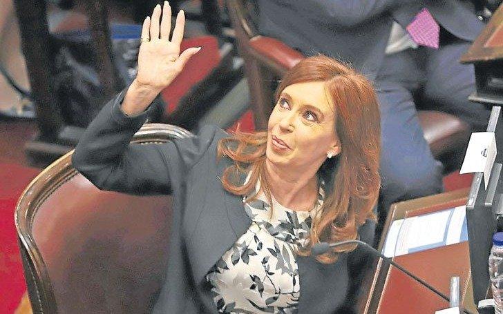 Cristina no asistirá mañana a la Asamblea Legislativa