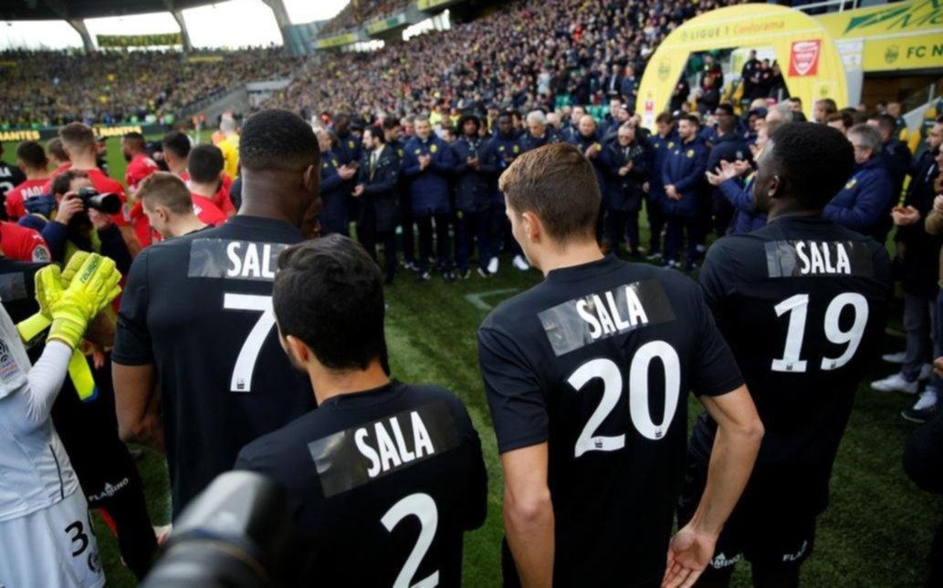 El Nantes le rindió un conmovedor último homenaje a Emiliano Sala