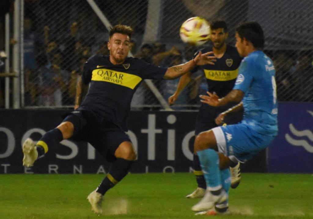Boca dejó dos puntos en su pelea por el título de la Superliga