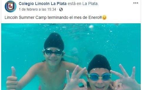 La publicación en el Facebook del Lincoln que disparó una catarata de comentarios