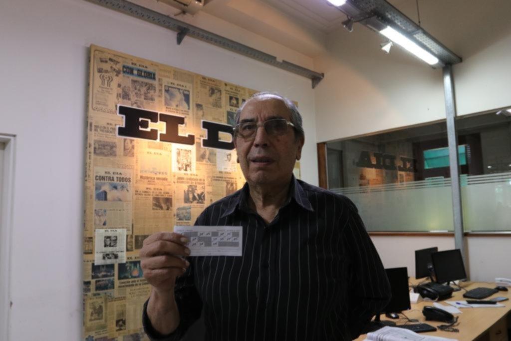 Un docente jubilado reunió los 15 aciertos y se ganó los $50 mil del Cartonazo