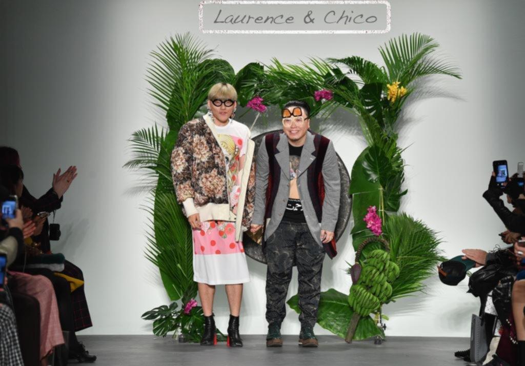 Un dúo dinámico en la semana de la moda de Nueva York