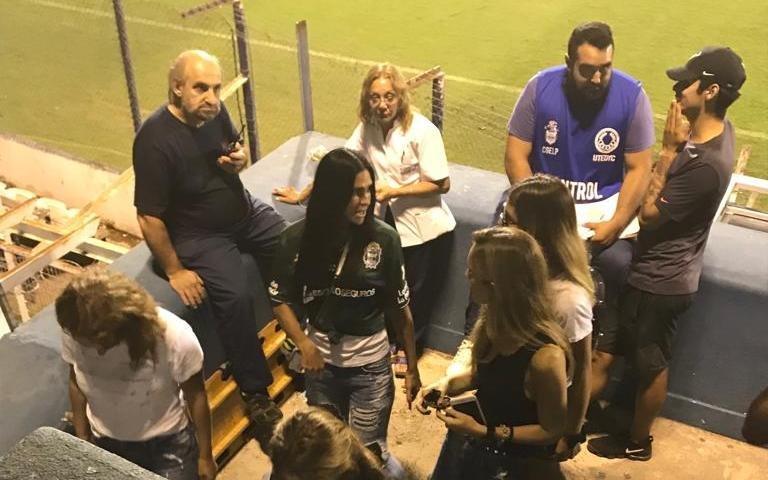 La ex del Cholo Simeone, con la camiseta del Lobo