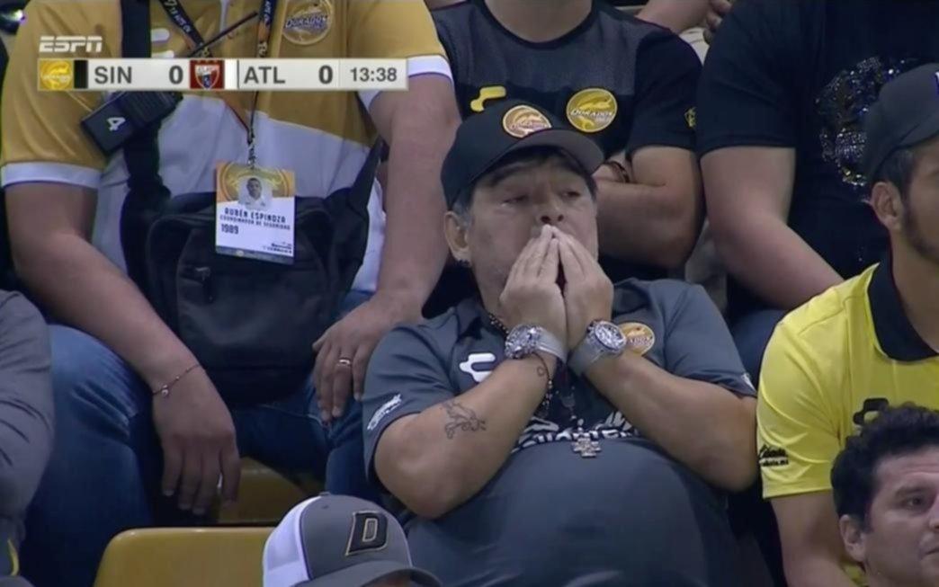 El Atlante golea a domicilio a los Dorados de Diego Maradona