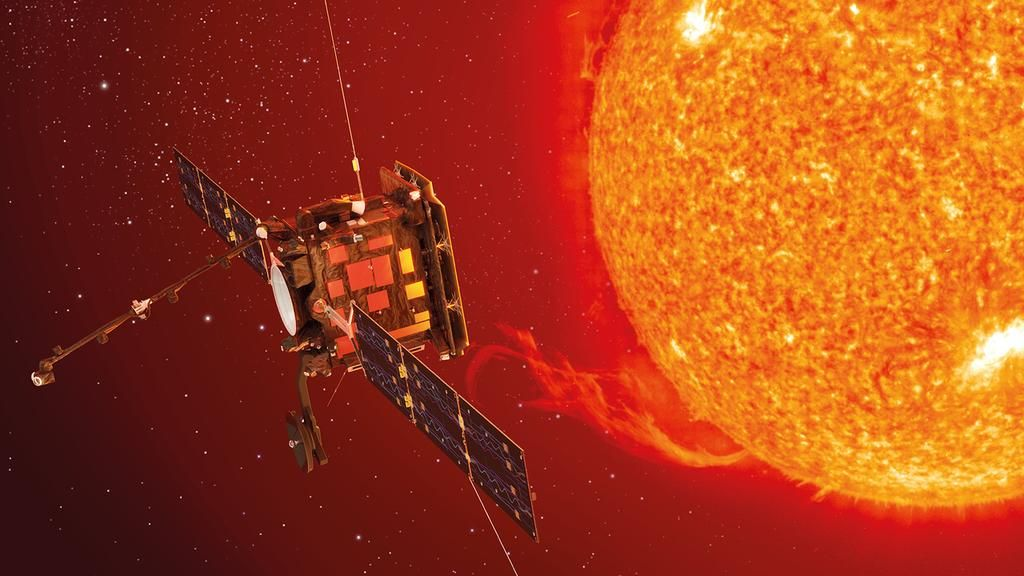 Europa lanza una misión para estudiar los polos del sol