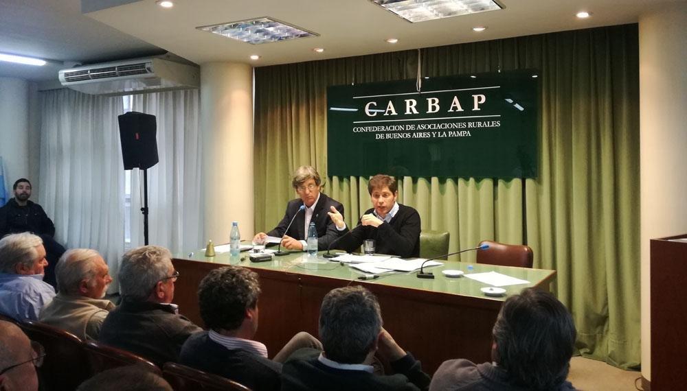 El campo le pide a la Provincia cambios impositivos y ayuda para la producción