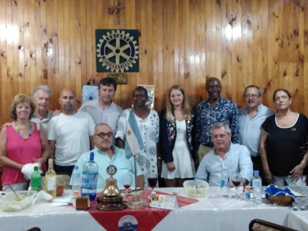 Amplia agenda rotaria para iniciar una fuerte actividad solidaria en la zona