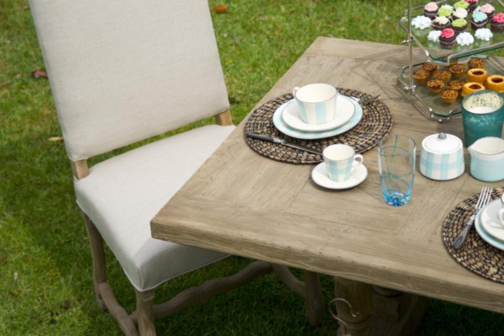 Decoración de mesas de exterior