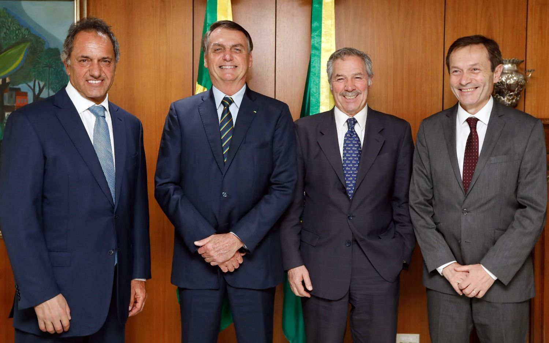 Jair Bolsonaro propuso a Solá una reunión con Alberto Fernández para el 1 de marzo