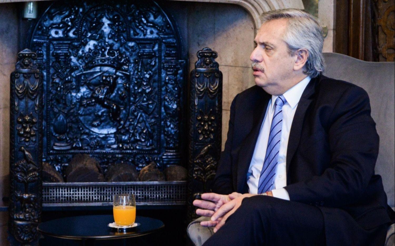 """Alberto Fernández: """"Argentina atraviesa una situación económica caótica"""""""