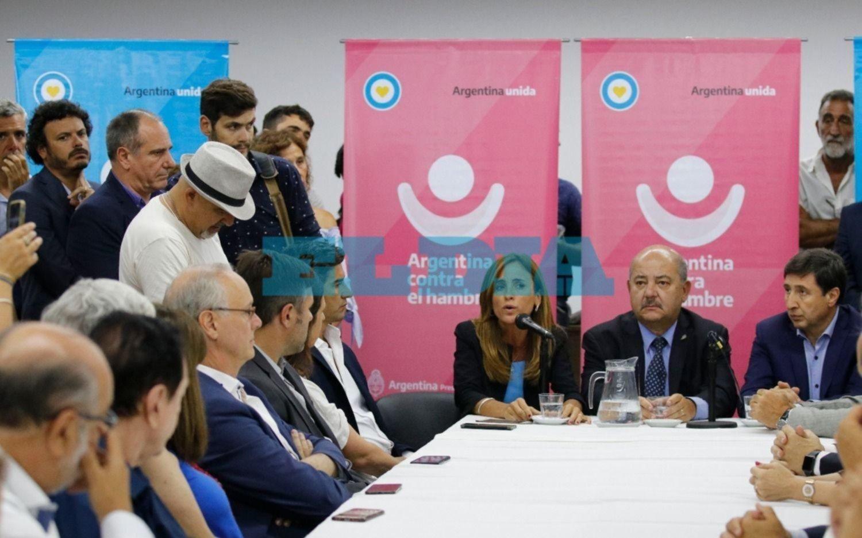 Presentaron en La Plata el Consejo Regional Argentina contra el Hambre