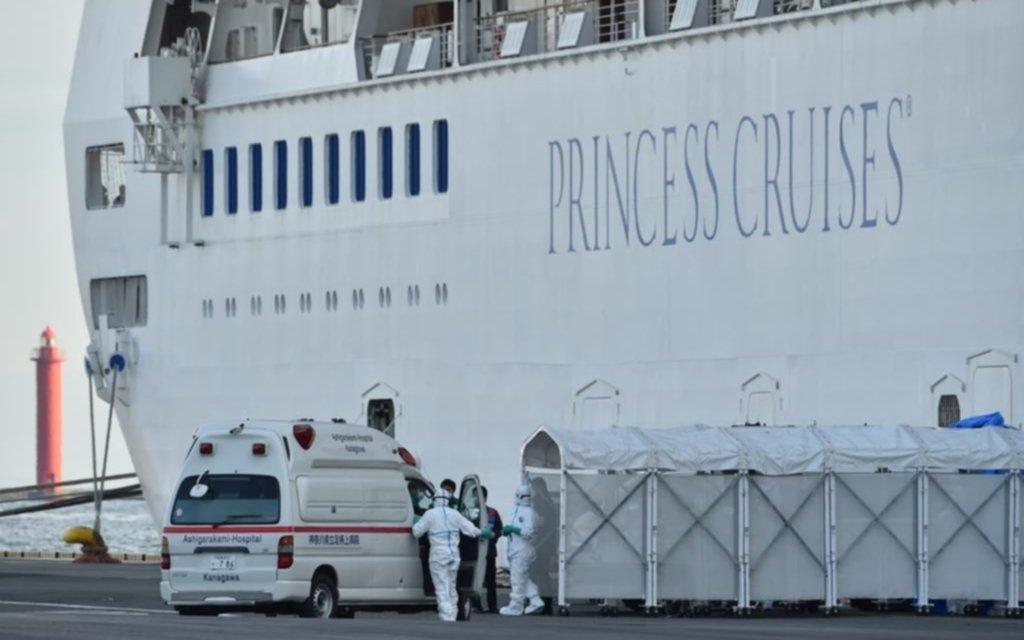 Japón informó 44 contagios más en el crucero bajo cuarentena en Yokohama
