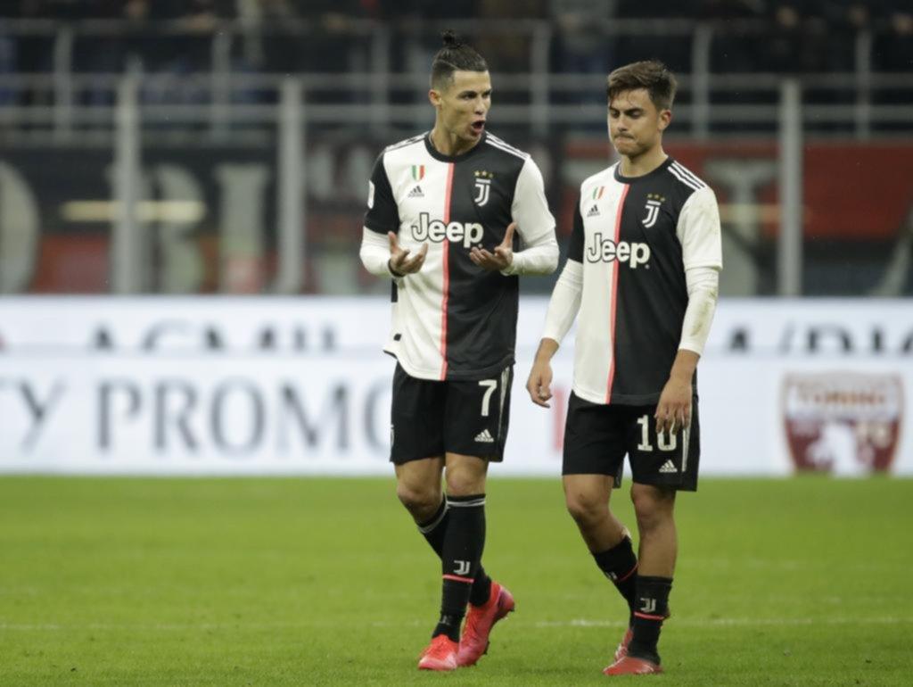 Juventus zafó de la derrota con un penal de Cristiano