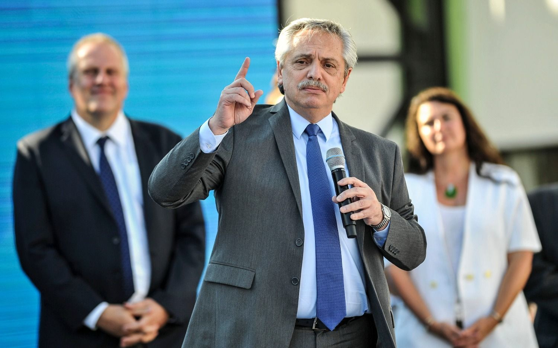 """Alberto Fernández dijo que """"los jubilados que van a tener su aumento y los medicamentos gratis"""""""