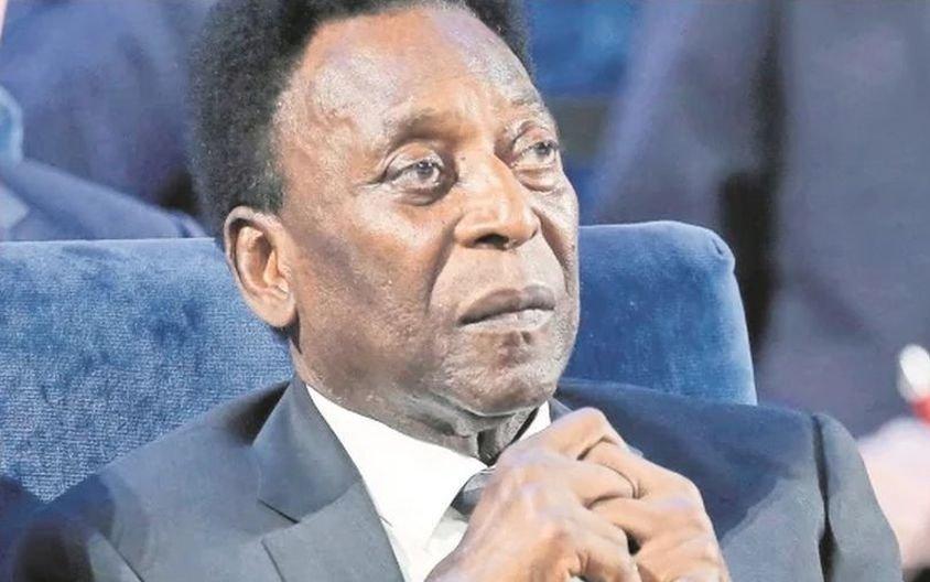 """Pelé aclaró que está """"bien"""" aunque tiene """"días malos"""""""