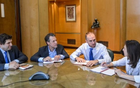 Guzmán se reunió con la delegación del FMI