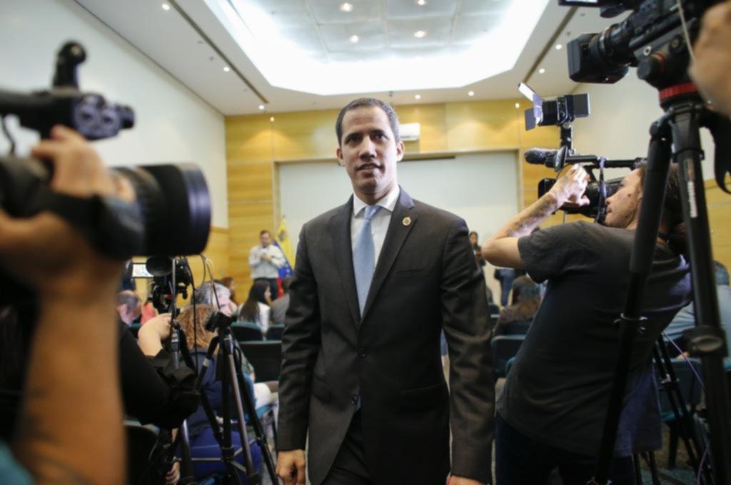 """Juan Guaidó: """"Argentina puede ser clave para destrabar la crisis en Venezuela"""""""