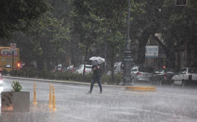 Alertan por tormentas fuertes con lluvias intensas para las próximas horas