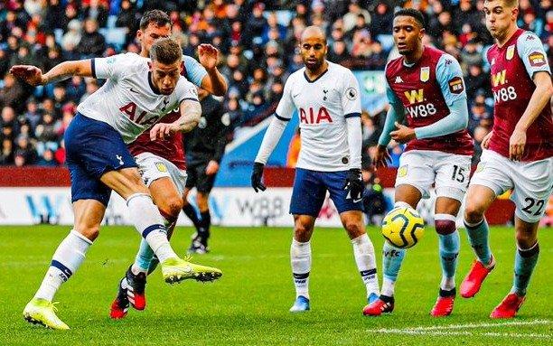 Tottenham Hotspur derrotó a Aston Vila y se colocó en zona de Europa Liga