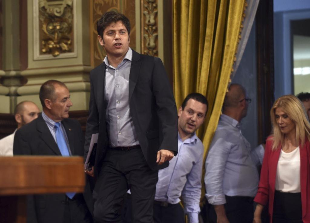 """Kicillof advirtió que la deuda provincial quedará atada a """"la negociación nacional"""""""