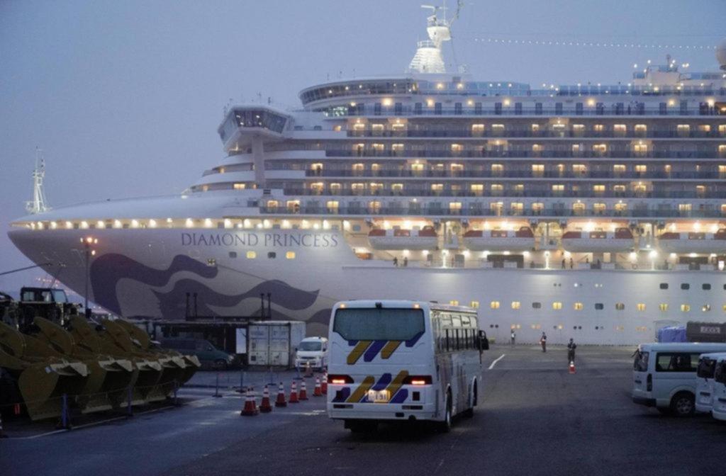 El argentino que viajaba en el crucero ya no tiene más el virus