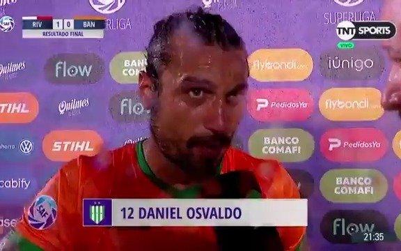 Daniel Osvaldo se fue de boca cuando habló de los hinchas de River