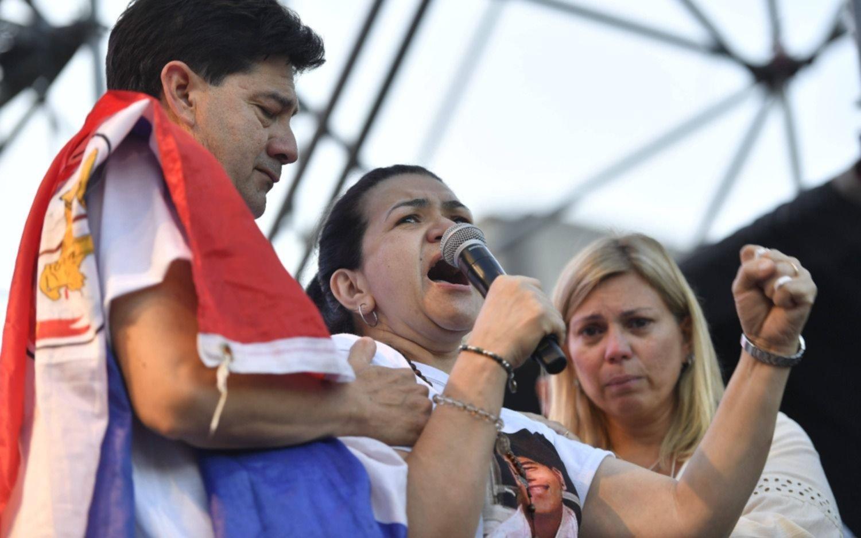 """""""Quiero justicia por mi hijo, lo mataron a traición"""" dijo la madre de Fernándo Báez Sosa"""