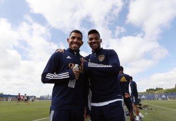 Junior Alonso gana espacio en el equipo de Boca, que podría visitar a Colón con su hinchada