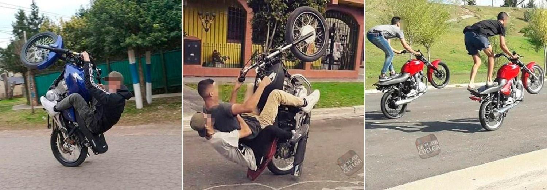 Alarma por las acrobacias en moto viralizadas en la web