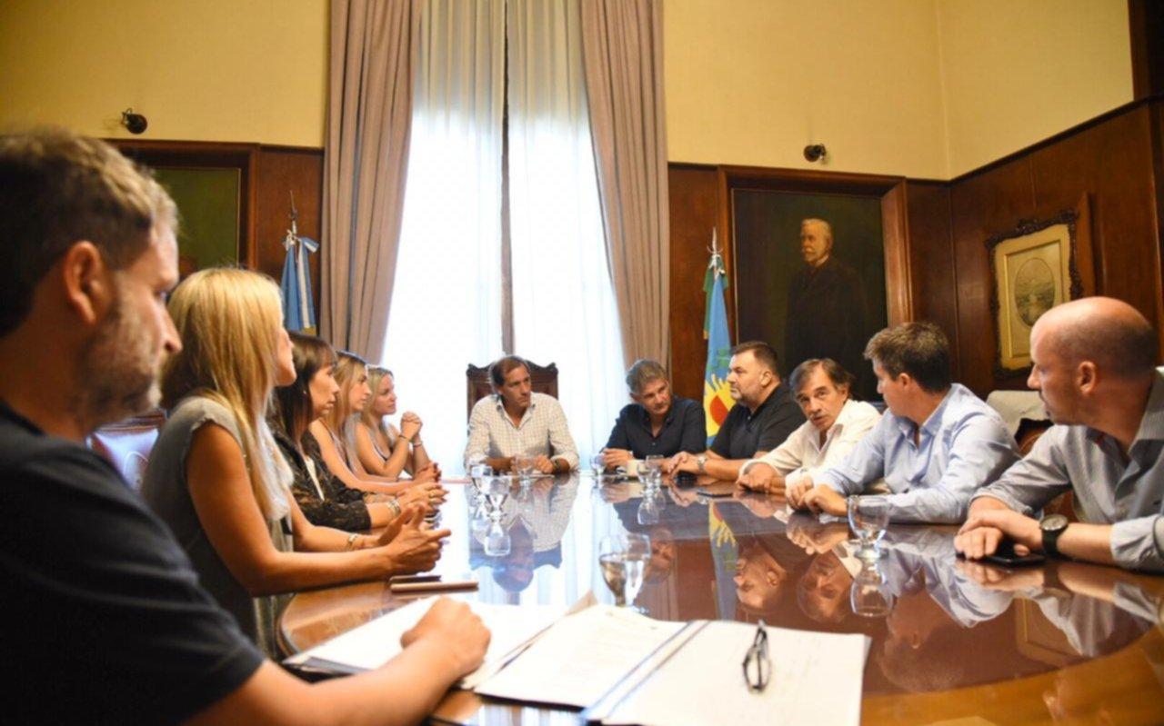 Con el eje en el presupuesto, Garro encabezó una reunión con legisladores