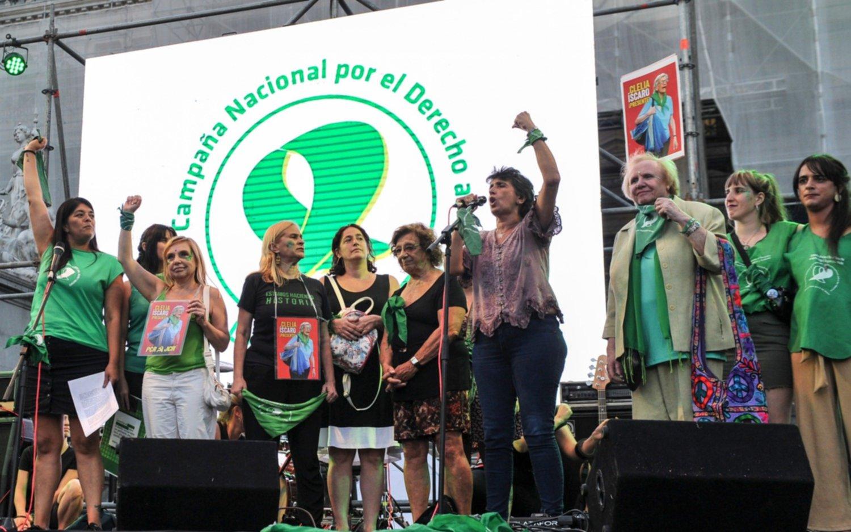 """La Campaña por el Aborto Legal pidió la sanción del proyecto de ley que """"está en las calles"""""""