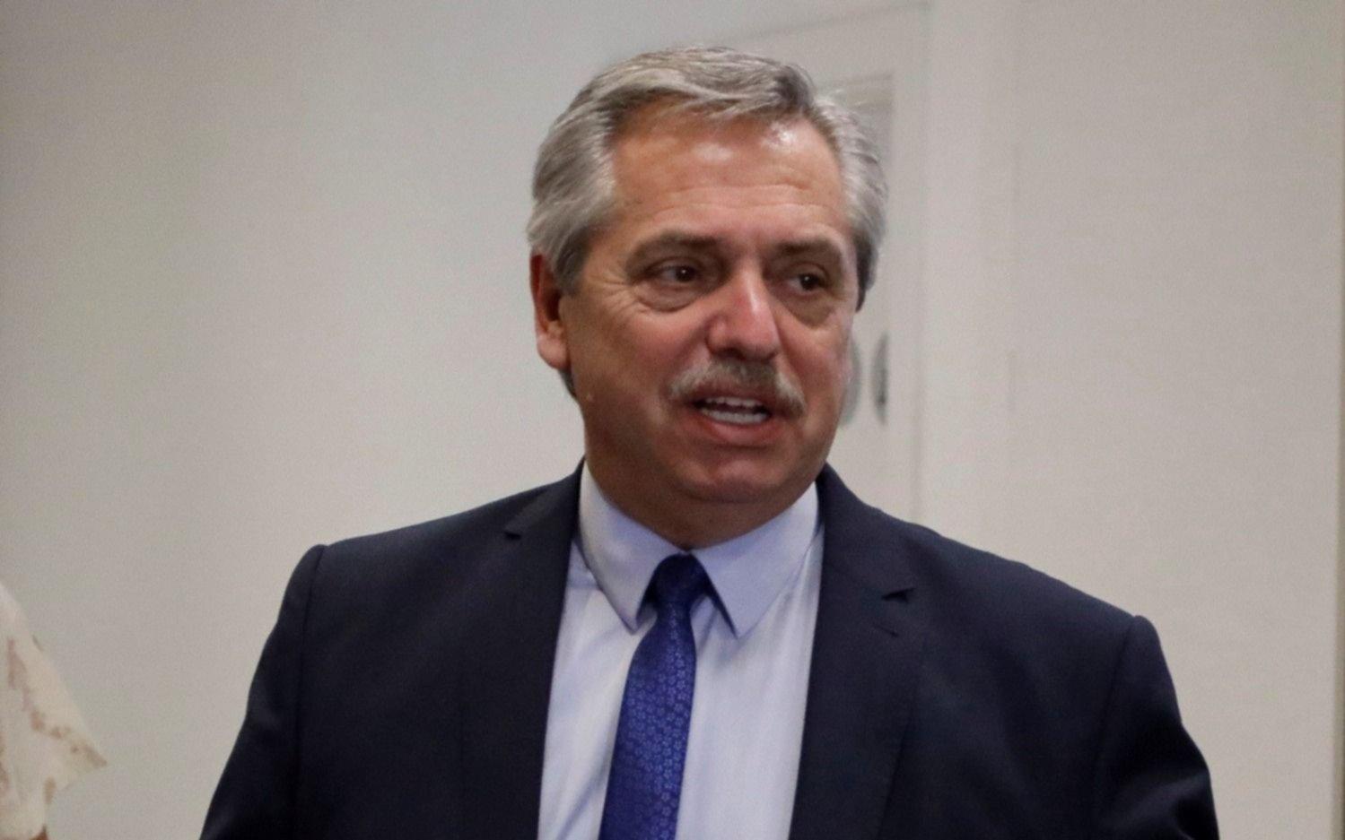 """Fernández, tras el comunicado del FMI: """"Celebro que reconozca la posición argentina"""""""