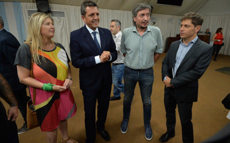 Cena en Gobernación con Máximo K y diputados, con los fondos bonaerenses en agenda