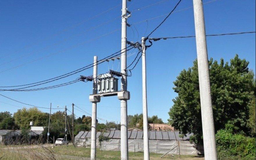 Un extenso corte de luz afectó a un amplio sector de Villa Elisa