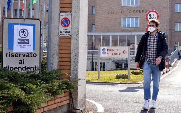 Un hombre de 78 años, el primer muerto por coronavirus en Italia