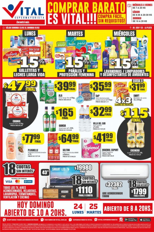 El domingo, también podés comprar más barato y a precios mayoristas