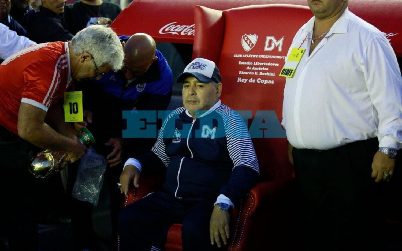 """Maradona: """"De ahora en más vamos a jugar como hoy"""""""