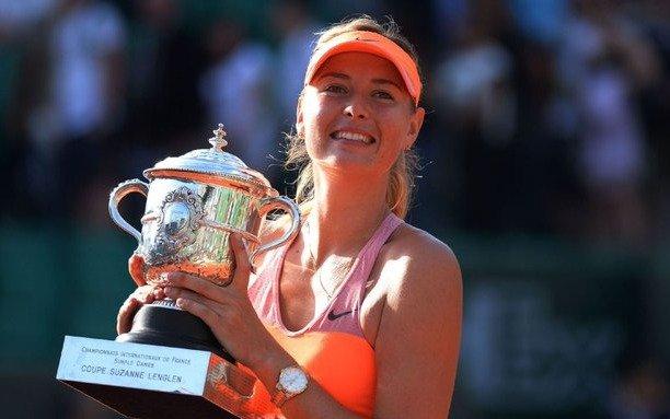 La rusa Maria Sharapova se retiró del tenis a los 32 años
