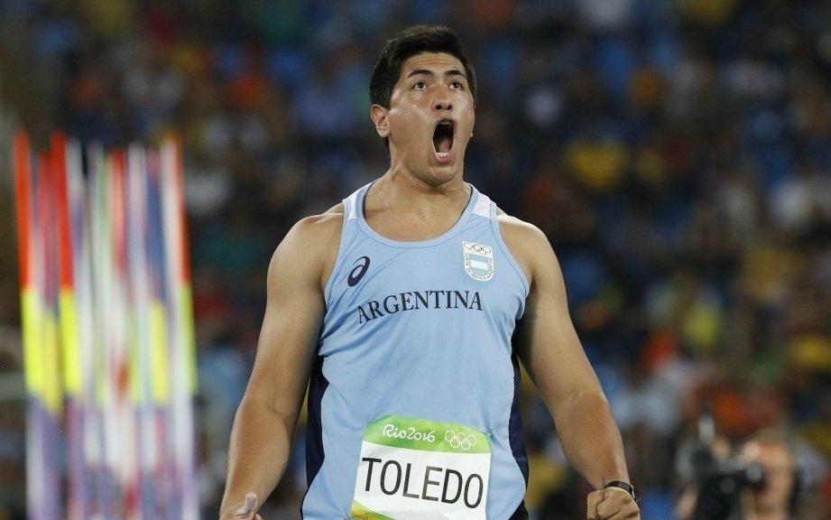 Toledo: la historia de un deportista humilde que muchas veces no tuvo para comer