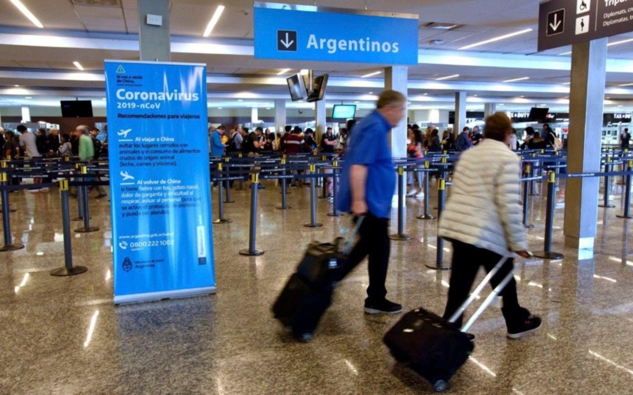 En Córdoba una mujer está internada con síntomas de coronavirus