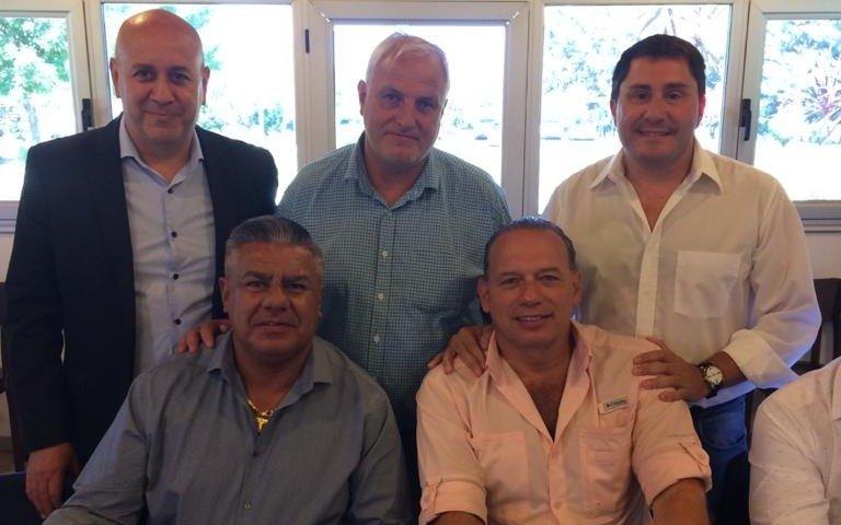 La Liga Amateur Platense se reunió con Berni y Tapia en el predio de AFA